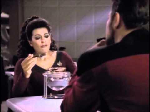 Deanna Troi likes her Chocolate