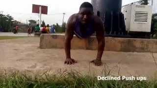 Black African Bodybuilder Home Workout for Building Muscle