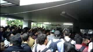 Cierra ESIME Culhuacan, Huelum y Cierra Edificio de Gobierno 26/09/2014