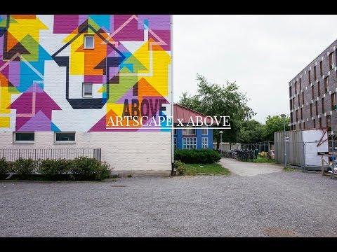 Spraying Bricks - ARTSCAPE MALMÖ 2014 - ABOVE