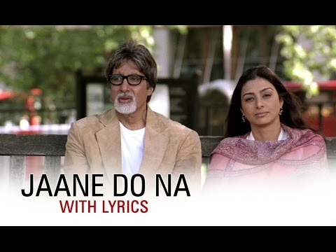 jaane do lyrics