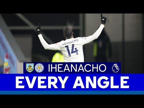 EVERY ANGLE | Kelechi Iheanacho's Goal vs. Burnley | 2020/21