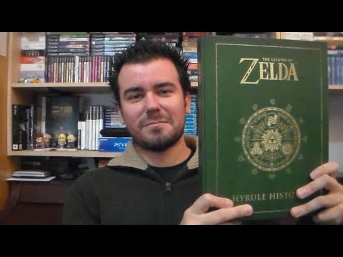 HYRULE HISTORIA (artwork Y Cronología De La Saga The Legend Of Zelda)