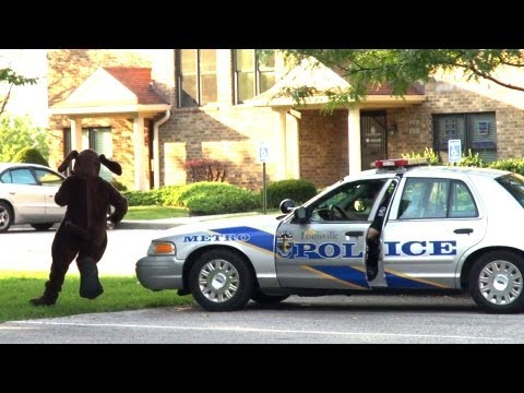 Police Escape Prank!!