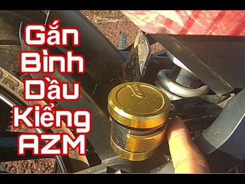 Hướng dẫn lắp bình dầu kiểng cho Exciter150 (AZM)