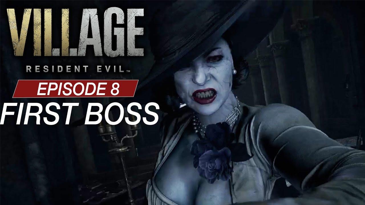 Mommy Dimitrescu you've left me no choice | BOSS FIGHT | RE Village Episode 8