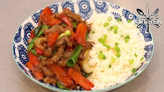 How To Make Mongolian Beef | Takeout Recipe At Home