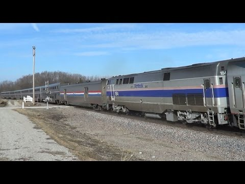 Thumbnail: California Zephyr with Friendly Engineer and Amtrak 184