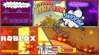 Roblox Vibrant Venture! FUN und RAGING GAME! SEHR LAUTE SCHREIWARNUNG!
