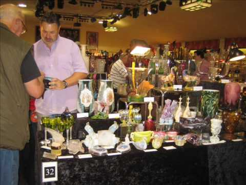 Images of the 14th Cambridge Glass Fair
