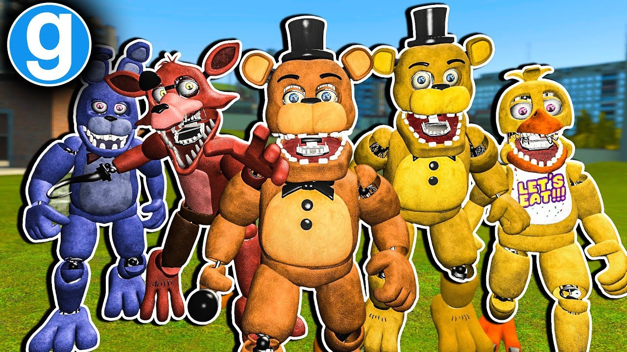 Gmod Fnaf - Brand New Fazbear Ultimate Pill Pack Unwithered Edition