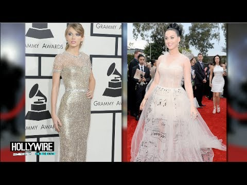Taylor Swift Vs. Katy Perry: Best Grammys Outfit?! (2014)