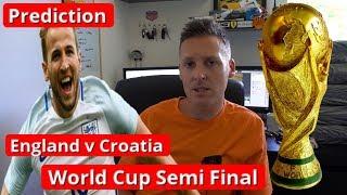 England V Croatia Prediction - World Cup Semi Final - Russia 2018