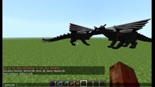 berke ile minecraft mod tanıtımı bölüm 2:dragon mounts mod.