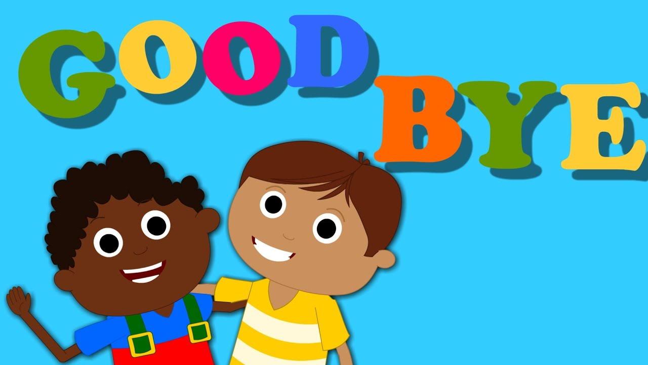 Goodbye Song | Nursery Rhymes For Baby And Kids | Songs ...