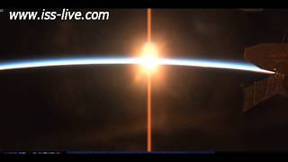 Sunset from the Space Station - captured just after 00:00 GMT 2nd December