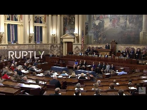 LIVE: Pennsylvania's Electoral College to cast votes for next US President and Vice President