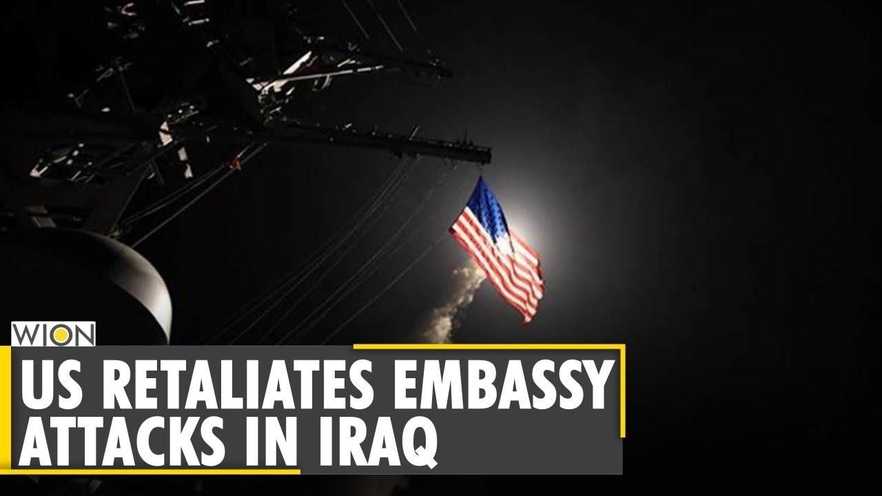 Download US bombs facilities in Syria | Joe Biden | Iraq embassy attack | US airstrike | English News | WION