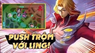Mobile Legends | ĐẨY LẺ VỚI LING! BÍ KÍP PUSH TRỘM GÁNH TEAM TỪ A-Z! |  Tốp mỡ Gaming