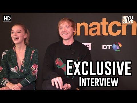 Rupert Grint & Phoebe Dynevor Exclusive Interview - Snatch