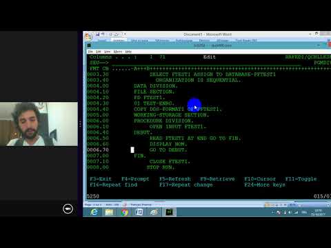 formation as400 part7   Exemple Programme COBOL FILE SEQUENTIEL
