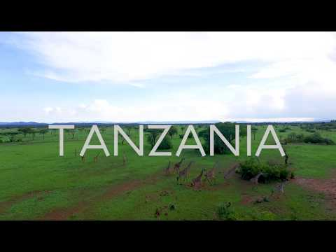 Tanzania: African Safari and Beaches by Drone