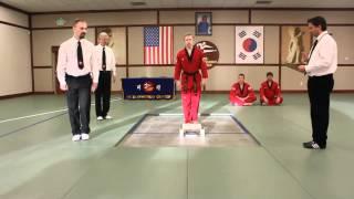 U.S. Open Taekwondo Hanmadang-Individual Power Breaking Knife Hand Downward (2012)