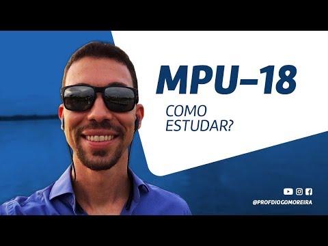 MPU 2018 - Dicas de estudo