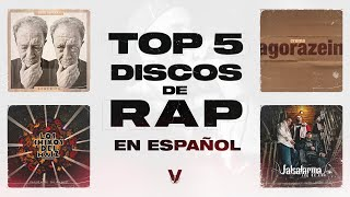 TOP 5 Discos del RAP ESPAÑOL  🏆   El V Elemento