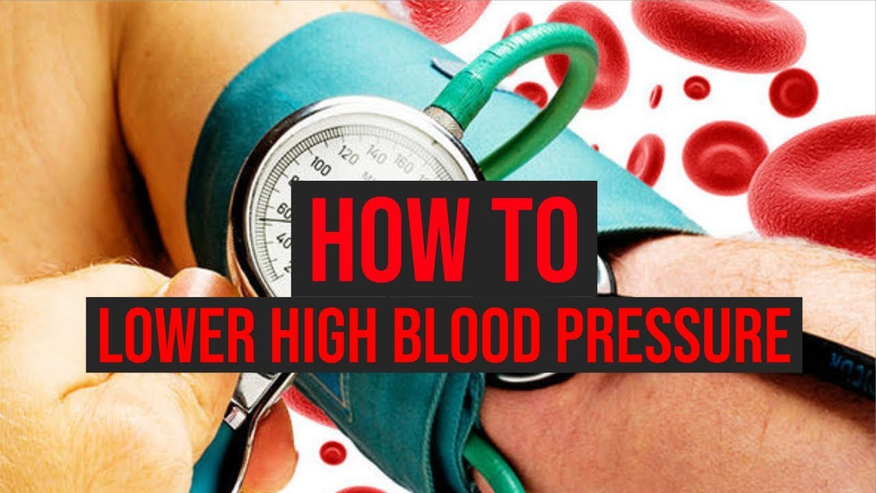 How To Lower High Blood Pressure In 1 Minute Youtube
