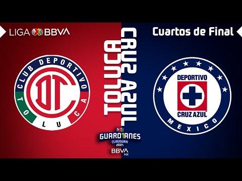 Toluca Cruz Azul Goals And Highlights