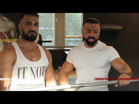 Marko Panic - Brust und Bizepstraining | Frankfurter Fitness Maschinen