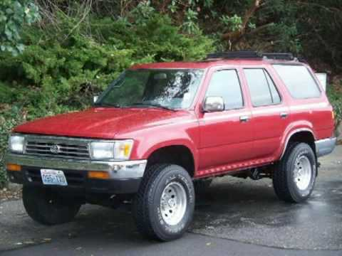 1992 toyota 4runner sr5 federal way tacoma seattle bellevue kent wa youtube. Black Bedroom Furniture Sets. Home Design Ideas