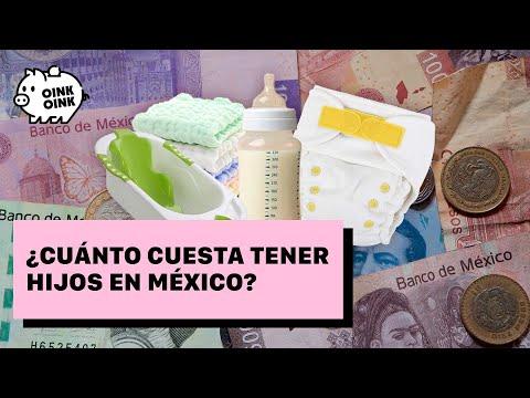 ¿Cuánto cuesta tener hijos en México?
