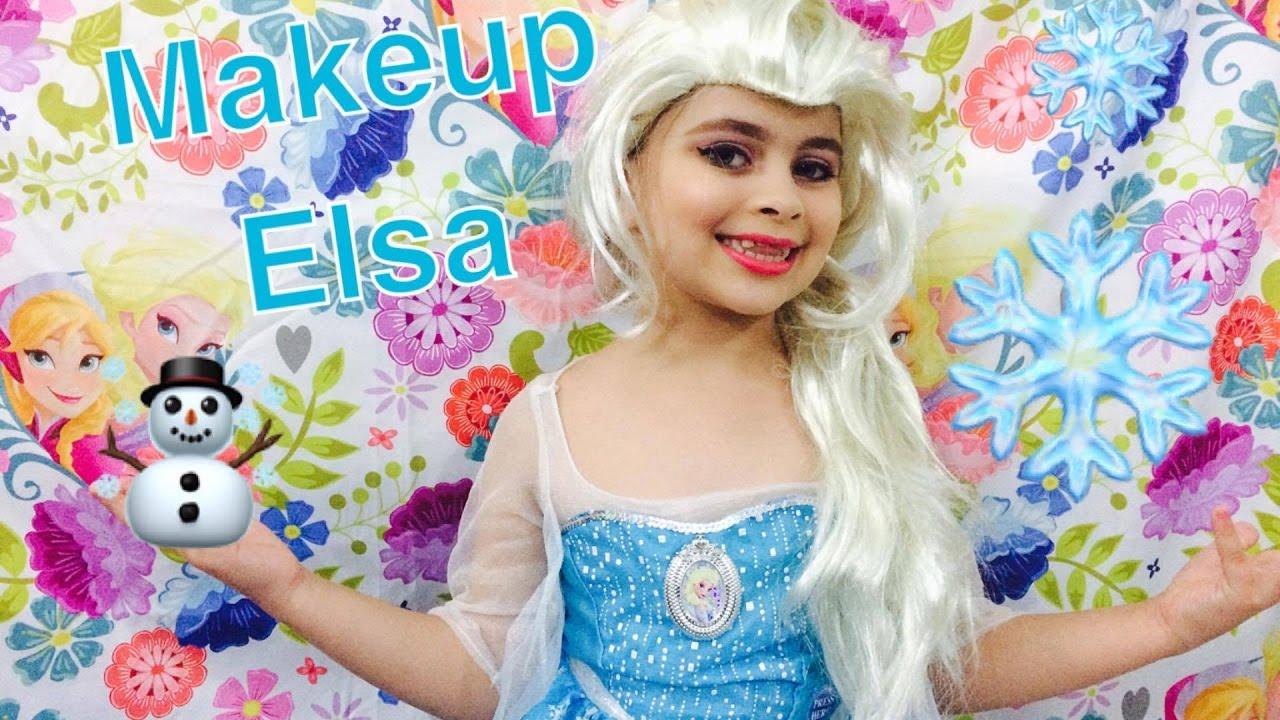 Elsa Saudades De Voces: Meu Tutorial De Maquiagem Da Elsa (Frozen)