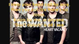 The WANTED Heart Vacancy Lyrics (Official Song)