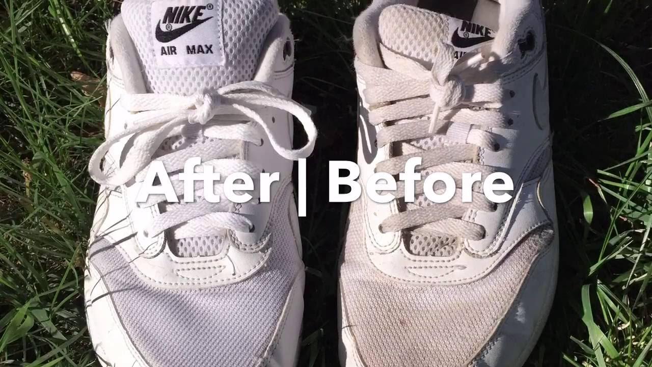 best way to clean nike air max
