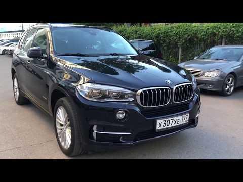 Знакомство и видеообзор BMW X5 III (F15) 35i 3.0 AT (306 л.с.) 4WD. Машина в продаже 2250000 руб.
