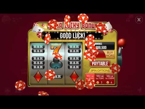 Mega Lucky Bonus In Zynga poker