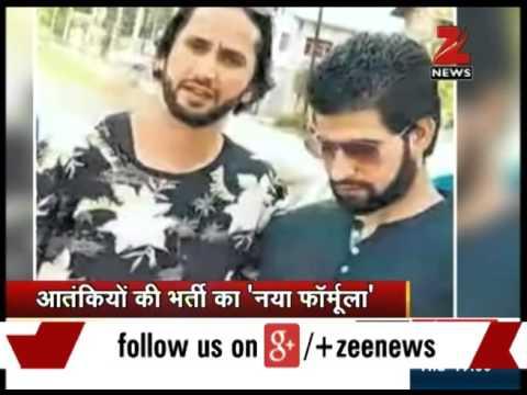 Hizbul Mujahideen militants take selfies in Srinagar