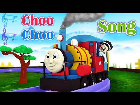 Choo Choo Song Toy Factory Thomas Cartoon Train - Songs for Kids - Thomas The Train