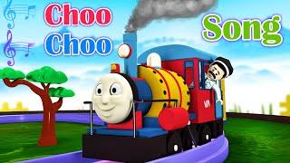 Choo Choo Song Toy Factory Thomas Cartoon Train - Songs for Kids - Thomas The Train