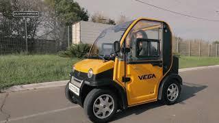 видео: Mini Electric Car Vega Mario. Обзор мини электромобиля Vega Mario от Авто Темы.