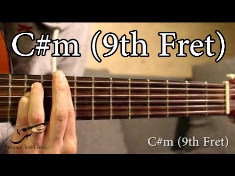 Cm Chord On Guitar 9th Fret Youtube