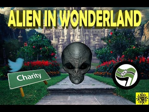Alien in Wonderland: Code Words and Keks and Charities, oh my!