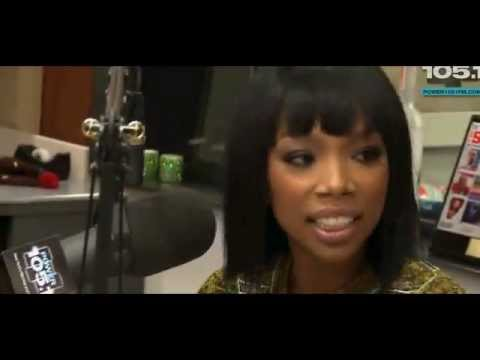 Charlamagne disrespects Brandy on Breakfast Club 10/15/12