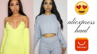 ALIEXPRESS SPRING CLOTHING HAUL (TRY ON)| EVERYTHING UNDER $20!| SAME AS FASHION NOVA?!?!