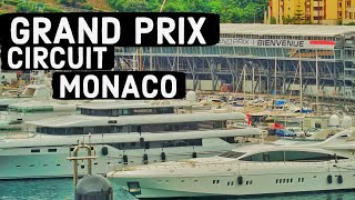 MONACO AFTER THE GRAND PRIX (Driving at the circuit)