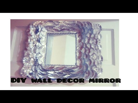 Diy Dollar Tree Glam Bling Mirror Wall Decor Elegant Holiday For Less And Easy