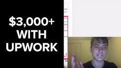 How I made $3,000+ in my first month freelancing on Upwork [Digital Marketing]